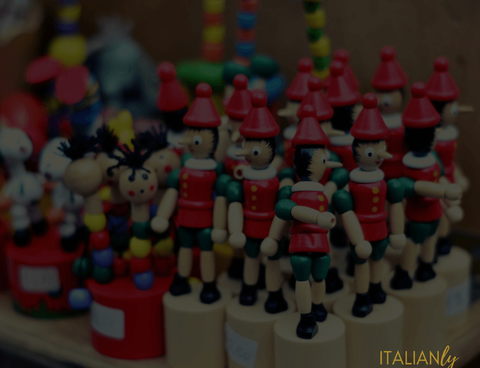 Italian through the reading of Pinocchio | Italianly | Learn Italian as you like